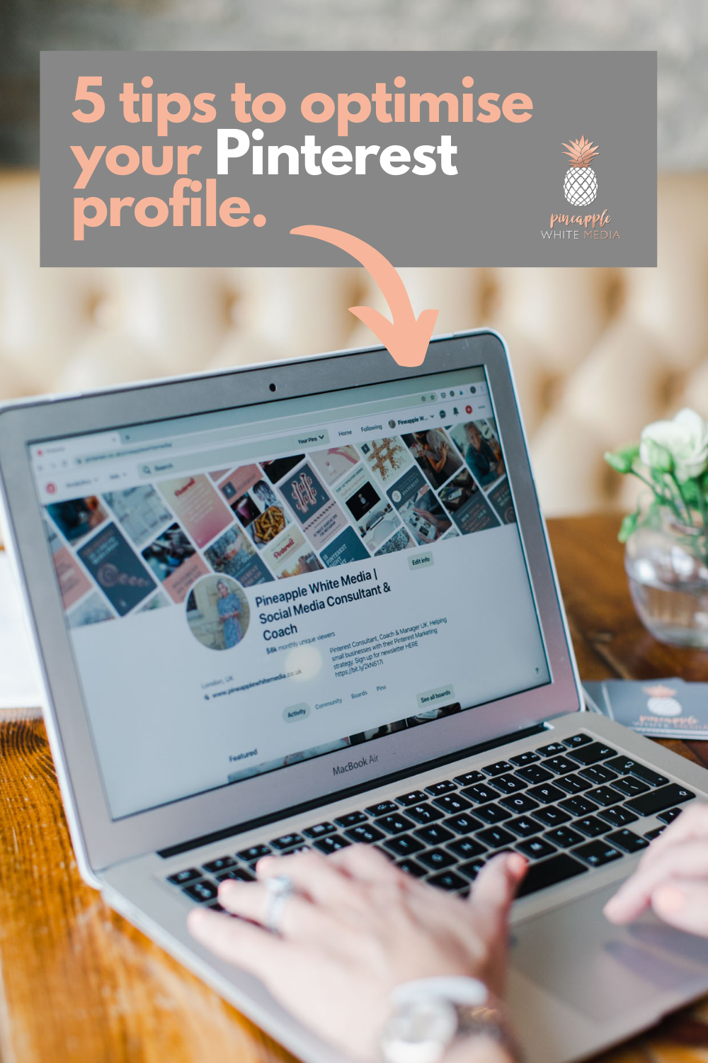 Pinterest profile tips