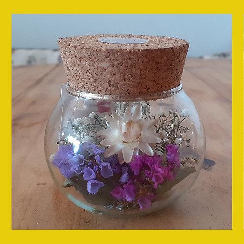 Vidro de flores pequeno