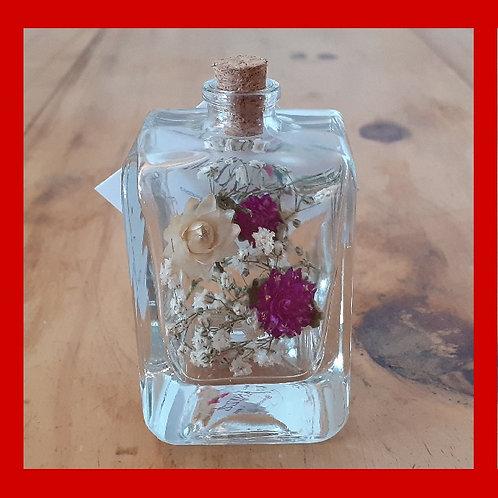 Garrafinha de flores