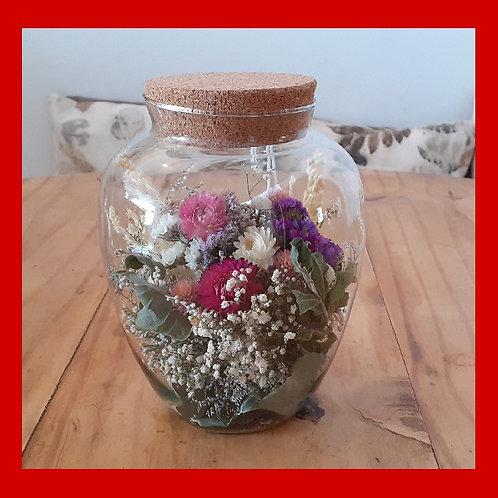 Vidro de flores grande