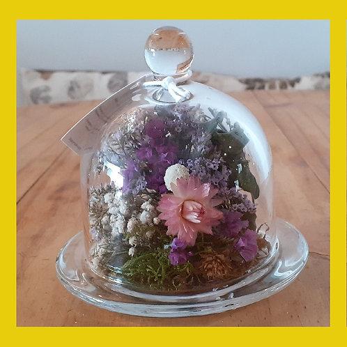 Cúpula média de flores