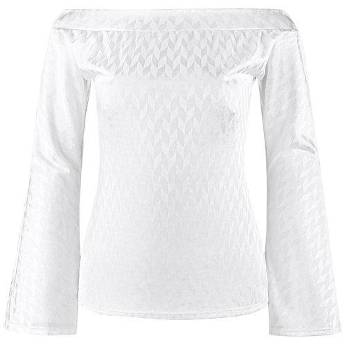 Alexander McQueen Bell Sleeve Top