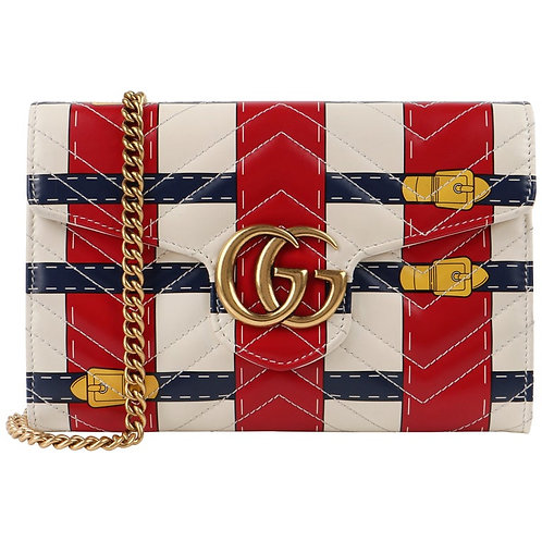 Gucci GG Marmont Crossbody Wallet Bag