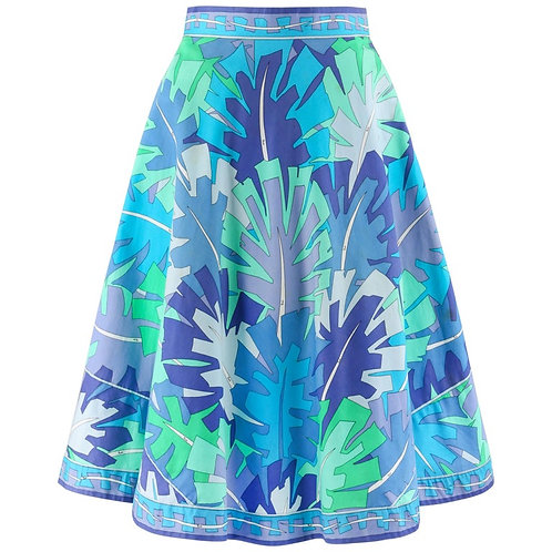 Emilio Pucci Flared Skirt