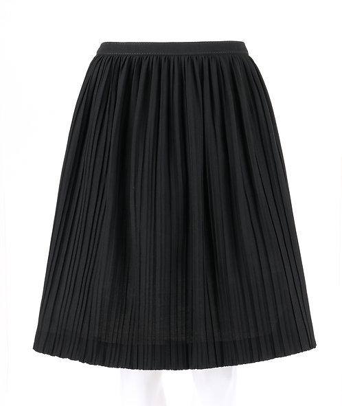 Valentino Wool Pleated Skirt