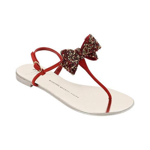 Giuseppe Zanotti Jeweled Thong Sandals