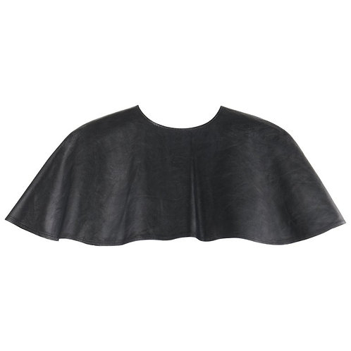 "Alexander McQueen ""Joan"" Leather Capelet"