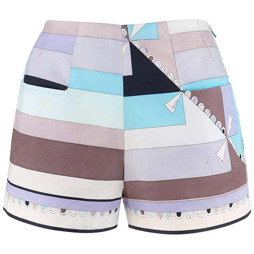 "Emilio Pucci ""Colleti"" Print Shorts"