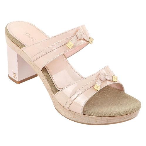 Louis Vuitton Opalescent Block Heel Sandals