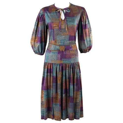 Renee Helga Howie Belted Shift Dress