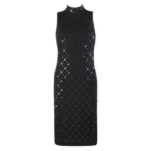 Alexander McQueen Sequin Dress