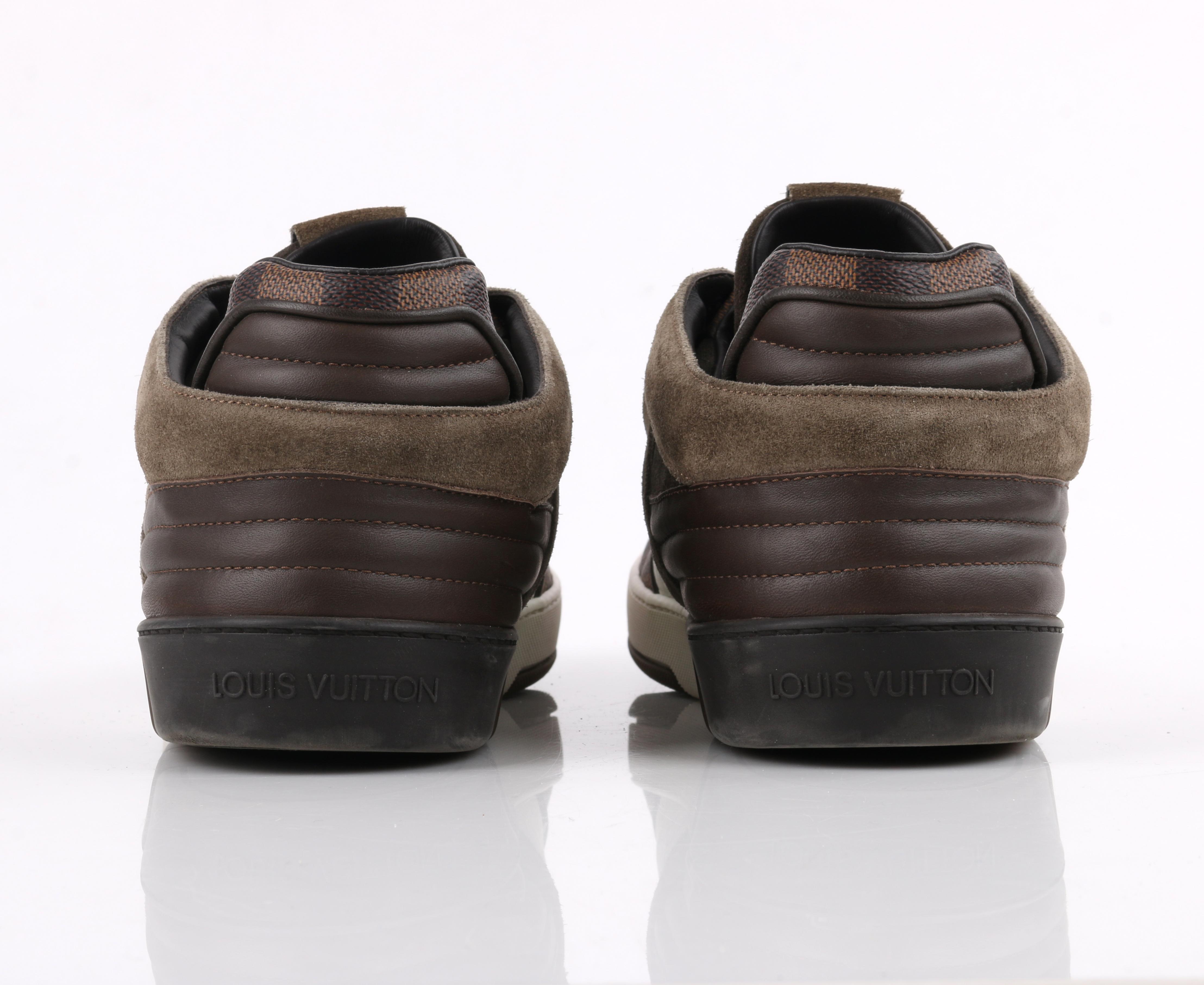 """Thumbnail: Louis Vuitton """"Ace"""" Damier Sneakers"""
