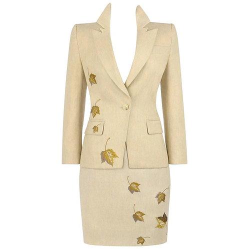 Givenchy Couture Alexander McQueen 3 Piece Set