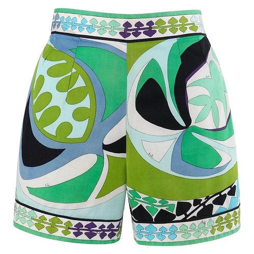 Emilio Pucci Signature Print Shorts