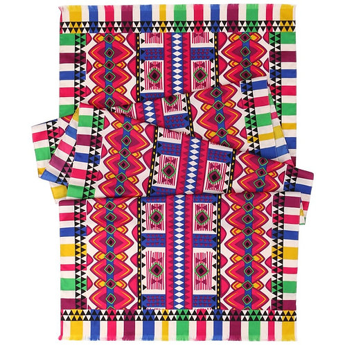 Etro Tribal Print Oblong Scarf
