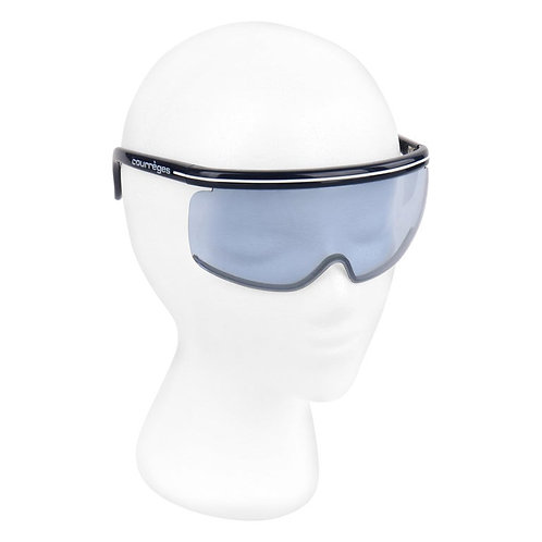 Courrèges Shield Futuristic Sunglasses