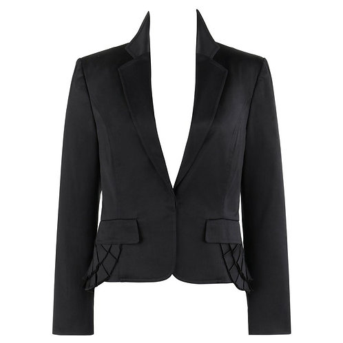 Gucci Mock Bustle Blazer