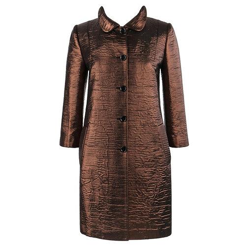 Dolce & Gabbana Silk Car Coat