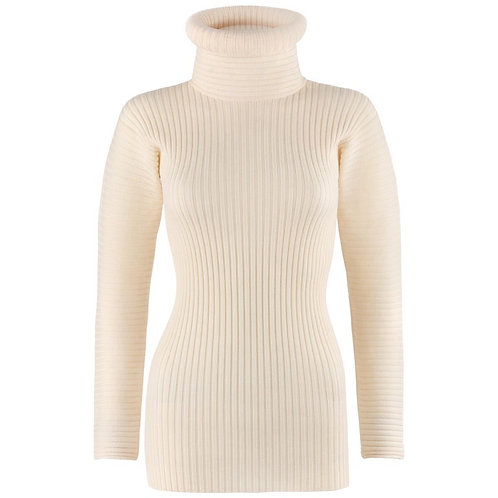 Jean Paul Gaultier Tube Turtleneck Sweater