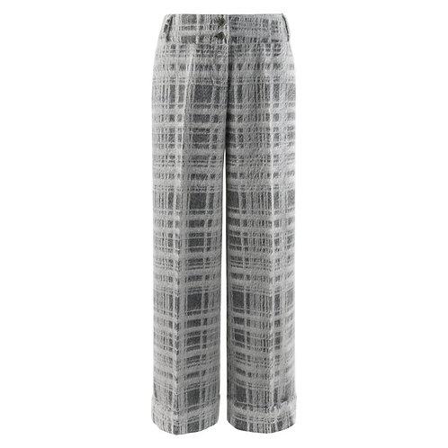 Alexander McQueen Mohair Wide Leg Trousers