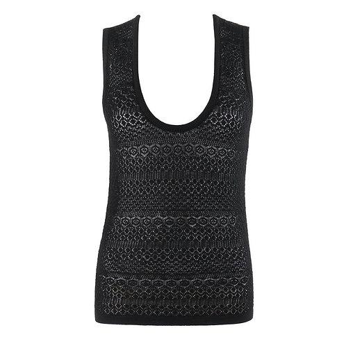 Dolce & Gabbana Crochet Knit Tank