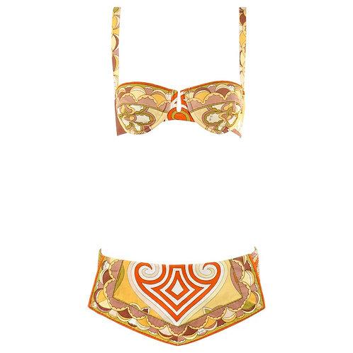 Emilio Pucci 2pc Bikini Swimsuit