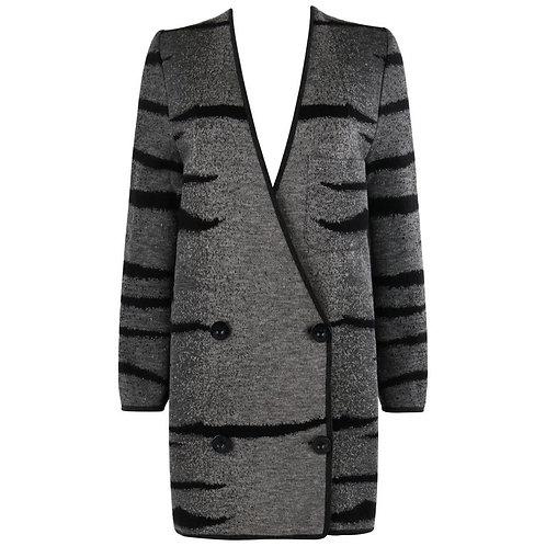 Valentino Ombré Cardigan Sweater