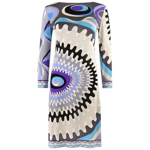 Emilio Pucci Op Art Jersey Dress