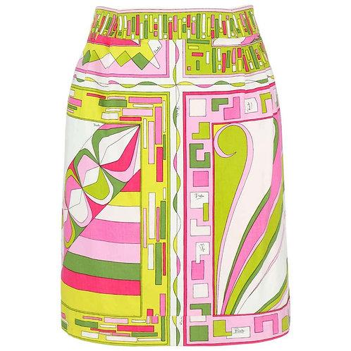 Emilio Pucci Signature Print Mini Skirt