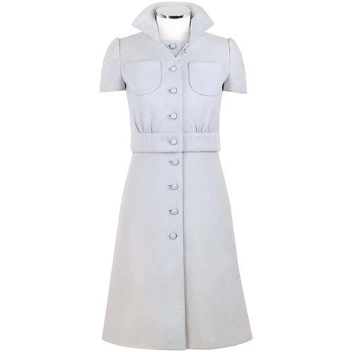 Courreges Wool Dress & Jacket Set