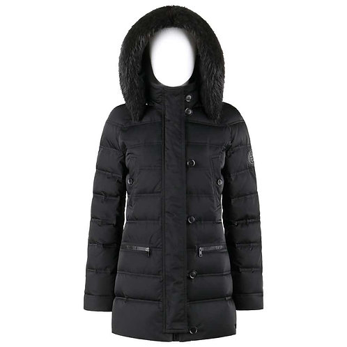 Gucci Beaver Fur Hooded Down Puffer Coat