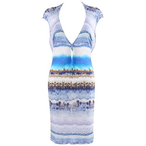 Alexander McQueen Agate Geode Dress