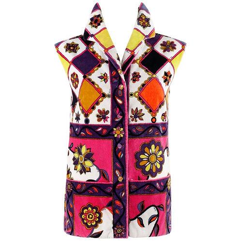 Emilio Pucci Terrycloth Beach Vest