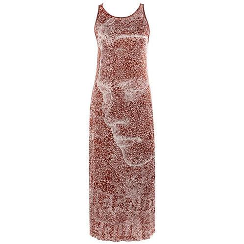 Jean Paul Gaultier Constellation Maxi Dress