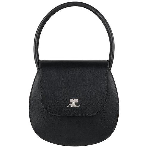Courrèges Structured Logo Handbag