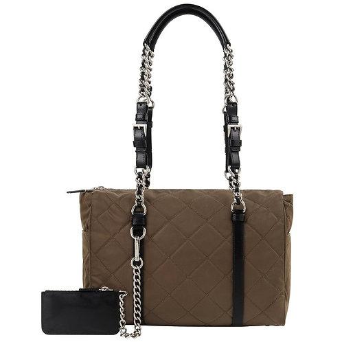 "Prada ""Tessuto"" Quilted Shoulder Bag"