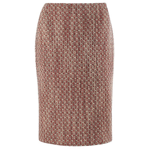 Alexander McQueen Pencil Zip Skirt