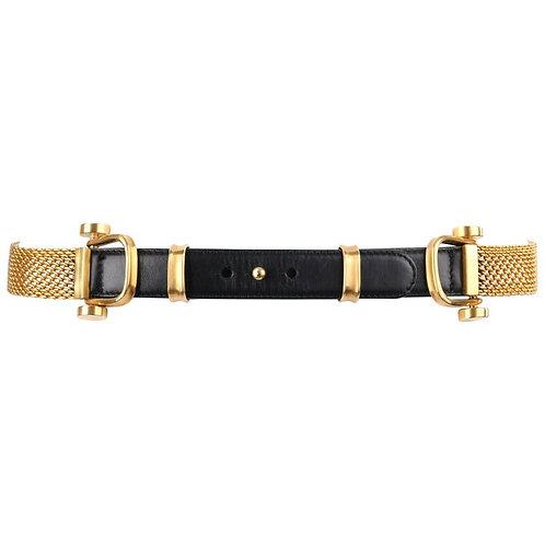 Donna Karan Chainmail Waist Belt