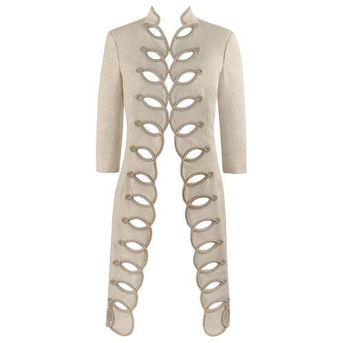Alexander McQueen Linen Overcoat