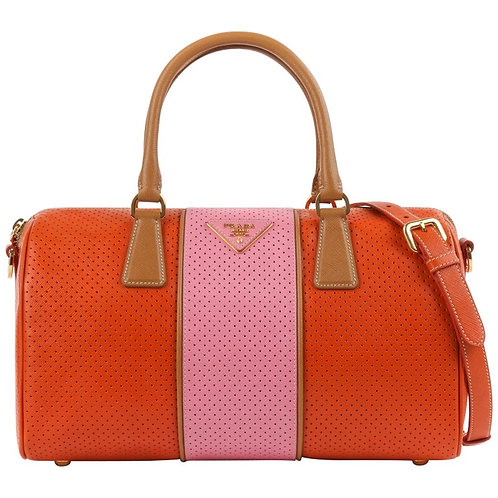"Prada ""Boston"" Satchel Shoulder Bag"