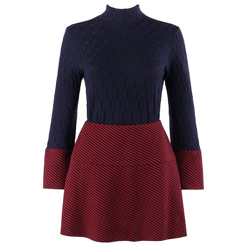 Rudi Gernreich Harmon Knitwear Sweater Skirt Set