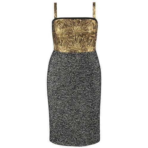Dolce & Gabbana Tweed Cocktail Dress