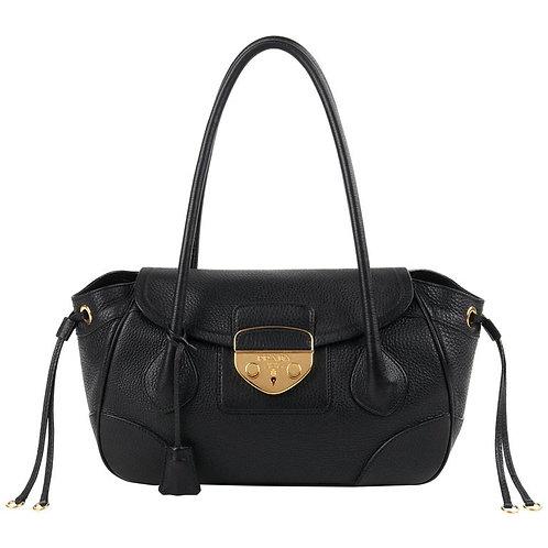 Prada Drawstring Satchel Handbag