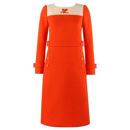 Courrèges Couture Mod Sheath Dress
