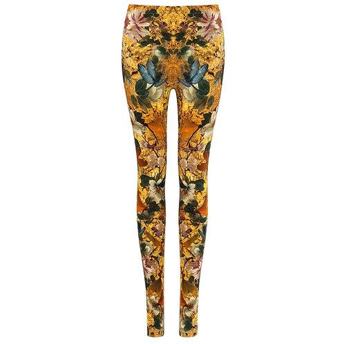 Alexander McQueen Dragonfly Legging Pants