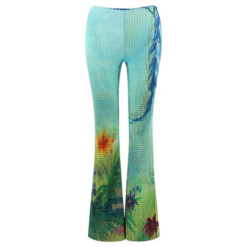 Moschino Tropical Pants