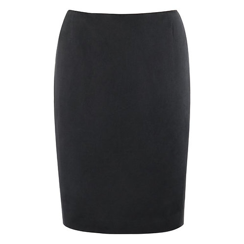 Alexander McQueen Silk Pencil Skirt
