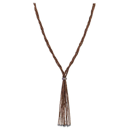 Matthew Campbell Laurenza Lariat Necklace