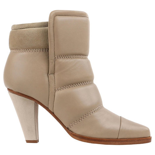 Chloe Quilted Ankle Booties