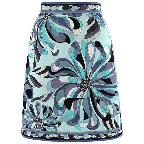 Emilio Pucci Op Art A-Line Skirt